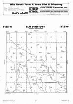 Elm Township, Hopkins Creek, Directory Map, Antelope County 2006